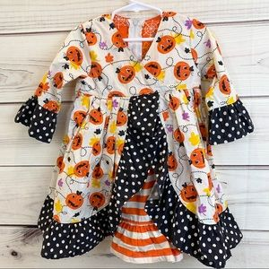 JELLY THE PUG Halloween Boo-Tiful Jordan Dress 2T